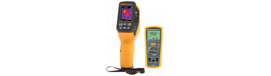 VISUAL IR THERMOMETER FLUKE VT04 & VT02