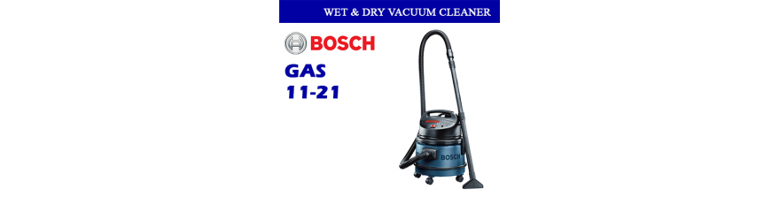 WET & DRY VACUUM CLEANER GAS 11-21 PROFESSIONAL BOSCH