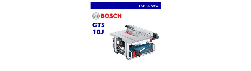 TABLE SAW GTS 10 J BOSCH